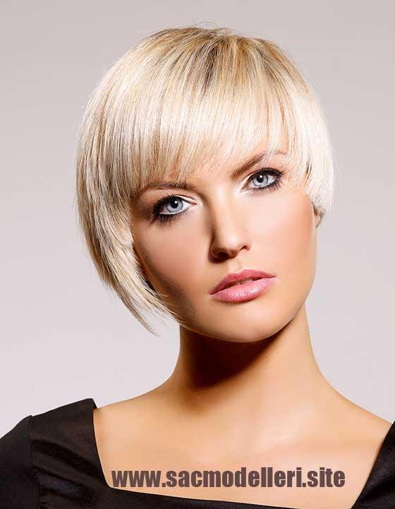 Asitmetrik Kısa Saç Modeli