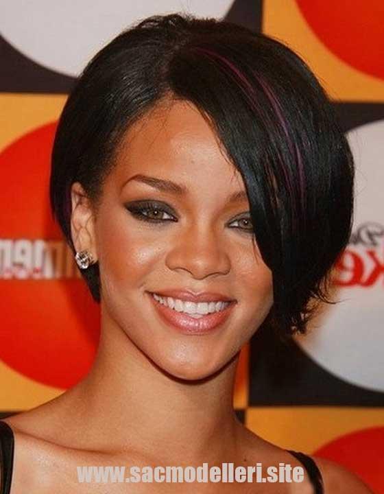 Rihanna Bob Saç Modeli