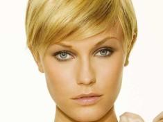 Kulak Hizasında Kısa Saç Modeli